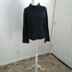 Ann Taylor blue sweater top size small